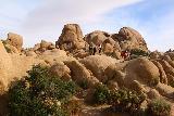 Skull_Rock_017_05182019 - Looking towards other people scrambling in an area behind Skull Rock