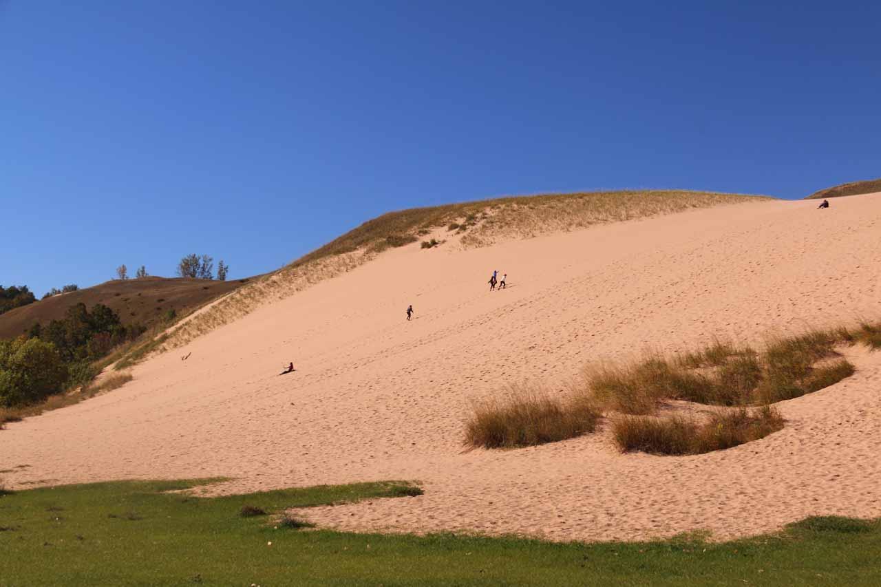 The Sleeping Bear Dunes Climb