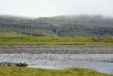 Snaedalsfoss_007_08092021 - Another distant contextual look across the Hamarsa River towards Snaedalsfoss