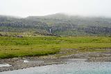 Snaedalsfoss_013_08092021 - Distant view of Snaedalsfoss as seen from the old bridge over the Hamarsa