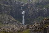 Snaedalsfoss_033_08092021 - Focused look at Snaedalsfoss as seen from across the Hamarsa River