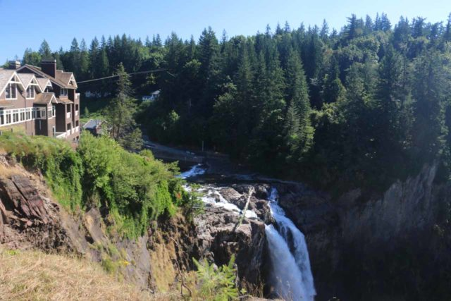 Snoqualmie_Falls_17_004_07292017 - The Salish Lodge perched above Snoqualmie Falls