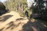 Snug_Falls_002_11222006 - Julie about to descend onto the track for Snug Falls