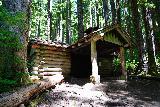 Sol_Duc_Falls_104_06222021 - A Civilian Conservation Corps shelter build near Sol Duc Falls