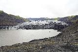 Solheimajokull_048_08072021 - Context of the scramble to the base of the Solheimajokull Glacier