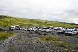 Solheimajokull_203_08072021 - Finally making it back to the pretty busy car park for Solheimajokull just as the weather started to improve