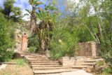 Solstice_Canyon_Falls_14_050_04132014 - going up a stair-stepped terrace at the Roberts Ranch Home