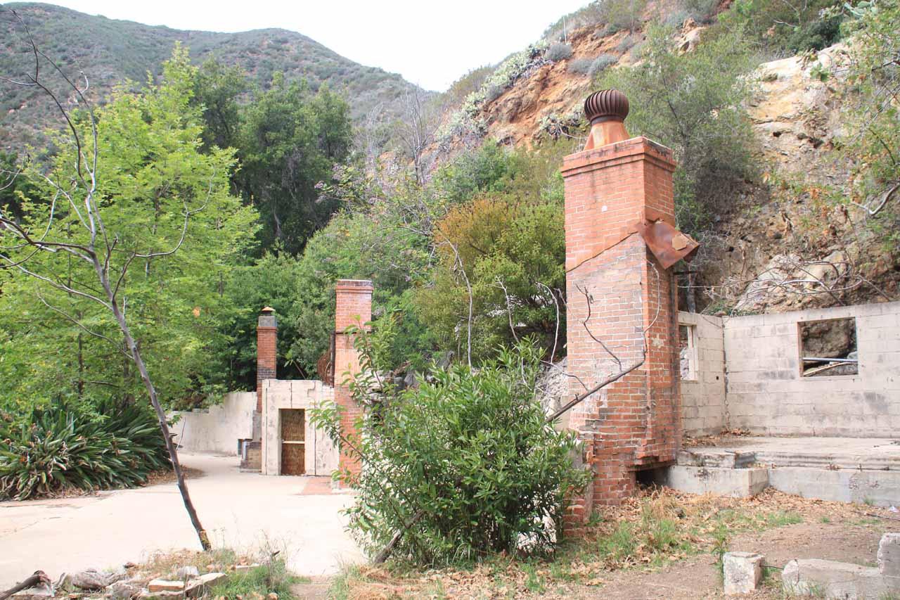The Robert's Home at Solstice Canyon Falls