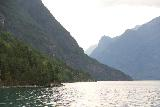 Solvorn_Urnes_ferry_006_07202019 - More of the scenery being revealed as the ferry to Urnes from Solvorn got further out on the Lustrafjorden