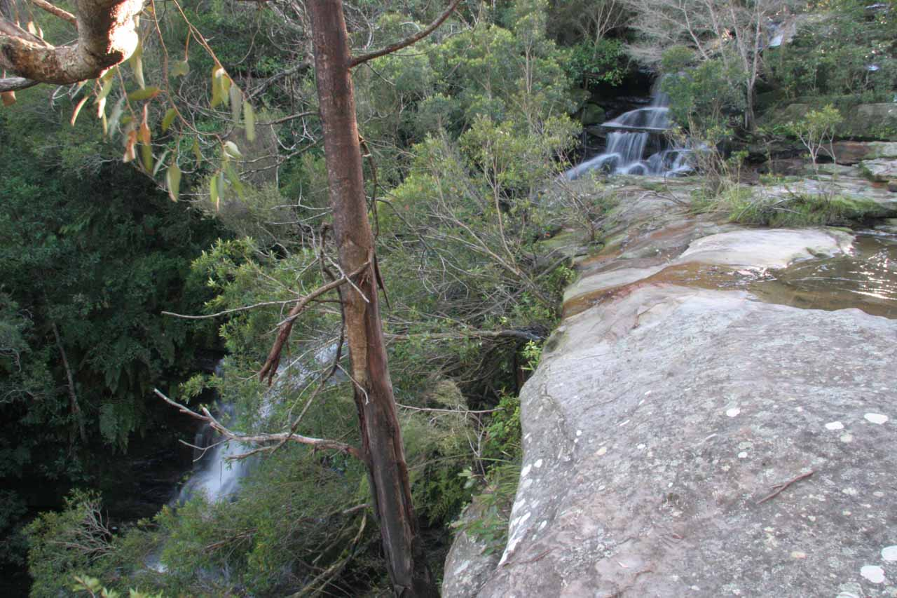 The Upper Somersby Falls