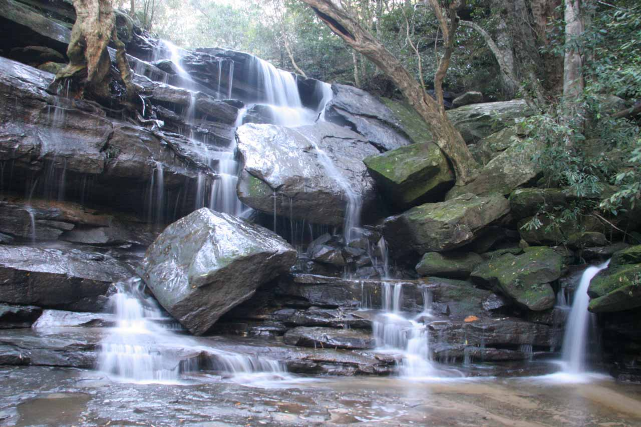 More comprehensive direct look at the Lower Somersby Falls