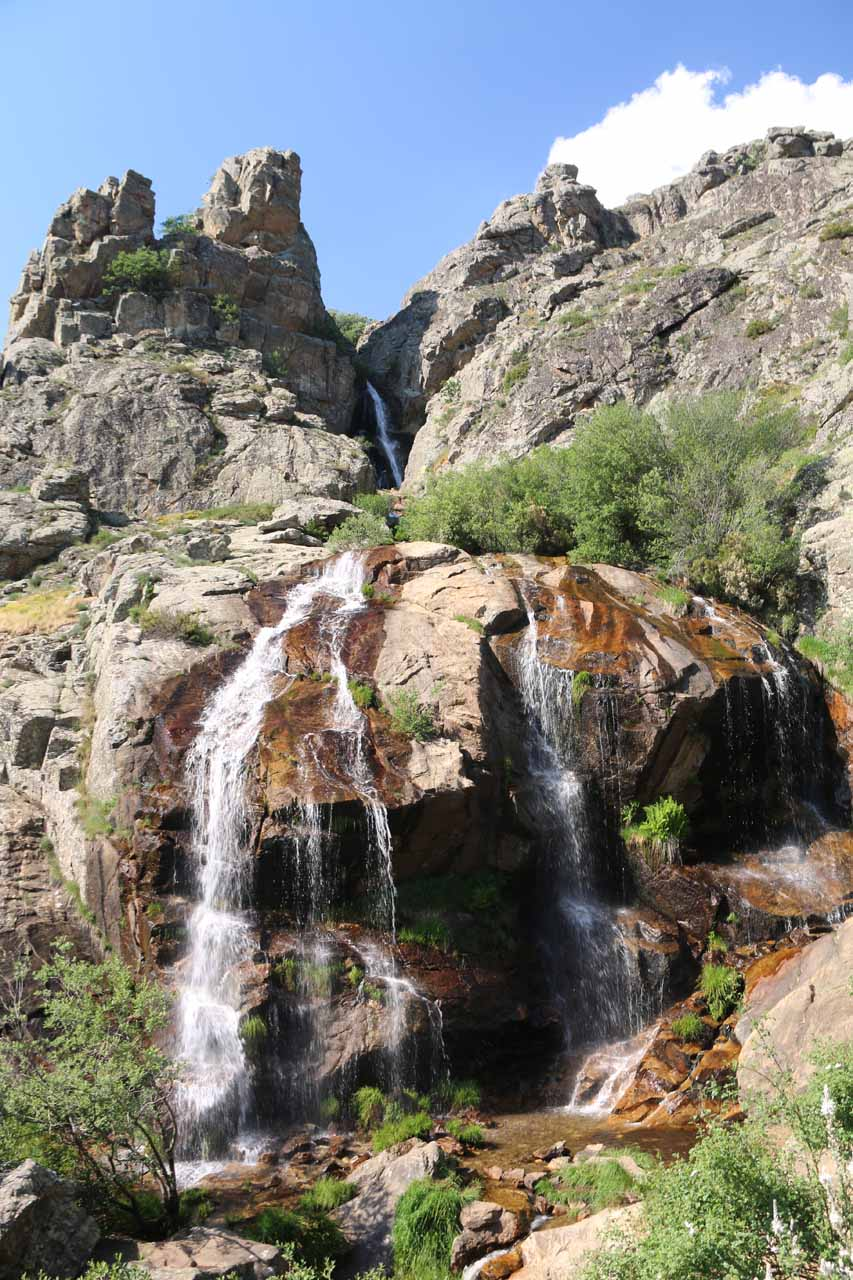 This was probably the closest to Cascada de Litueros as I was able to scramble to