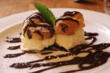 Sonoma_011_05222016 - This was the profiterole dessert we got at the Girl and the Fig in downtown Sonoma