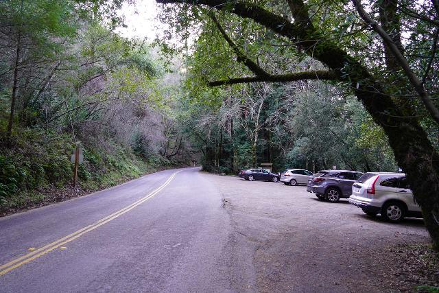 Sonoma_Creek_Falls_003_02212020 - The Goodspeed Parking Lot at the lower end of the trail to Sonoma Creek Falls