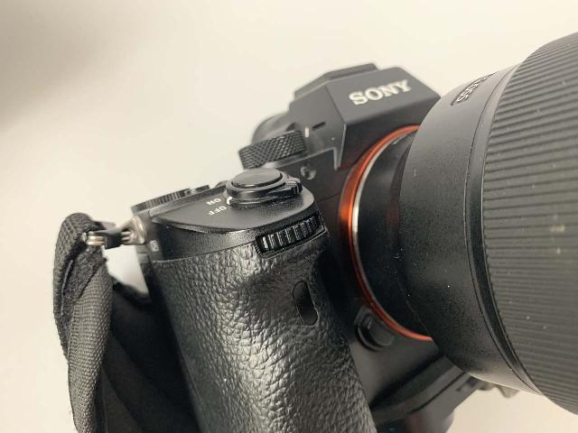 Closer look at that hidden scene wheel on the Sony A7 3 that was really easy to inadvertently turn (took me a long time to figure out that this was why the camera kept 'switching' to the wrong scene from time to time)