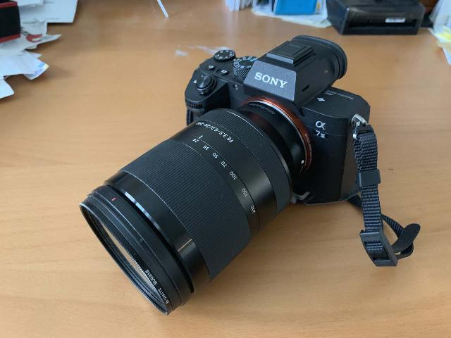 This is my Sony Alpha A7 III mirrorless camera body with a Sony FE 24-240mm F3.5-6.3 Oss E-Mount Zoom Lens attached