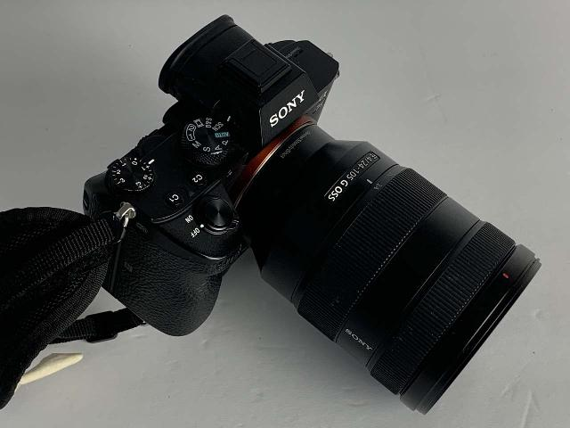 The Sony SEL24105G FE 24-105mm f/4 OSS G Lens mated with our Sony Alpha 7 III mirrorless full-frame camera body