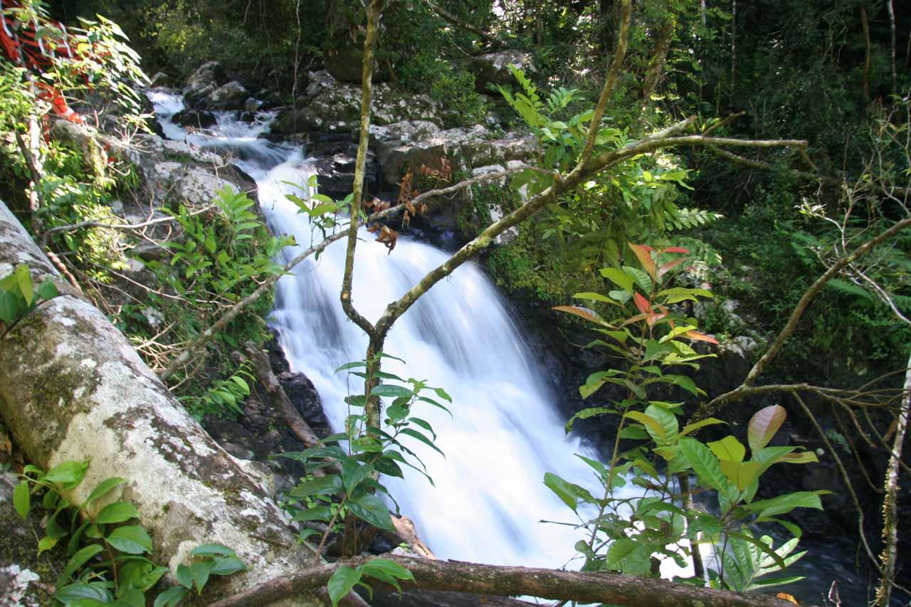 The second Souita Falls