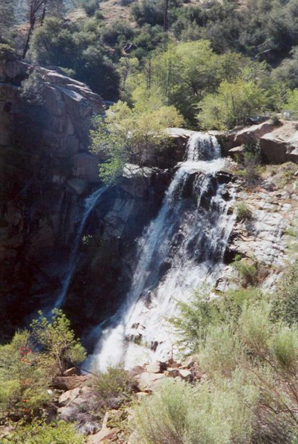 South_Creek_Falls_001_scanned_05112002 - This was what South Creek Falls looked like when we first saw it back in May 2002