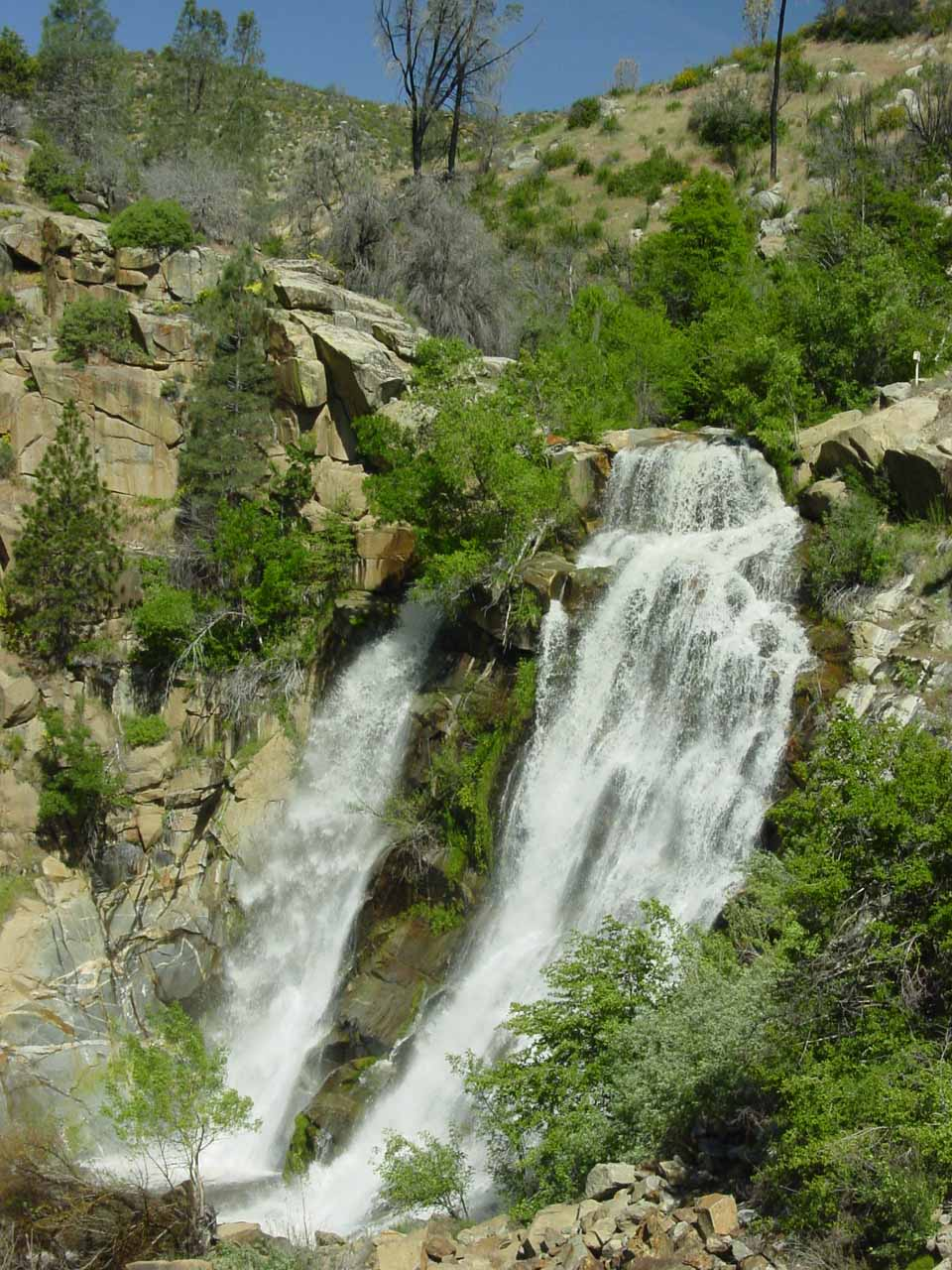South Creek Falls not too far from Kernville