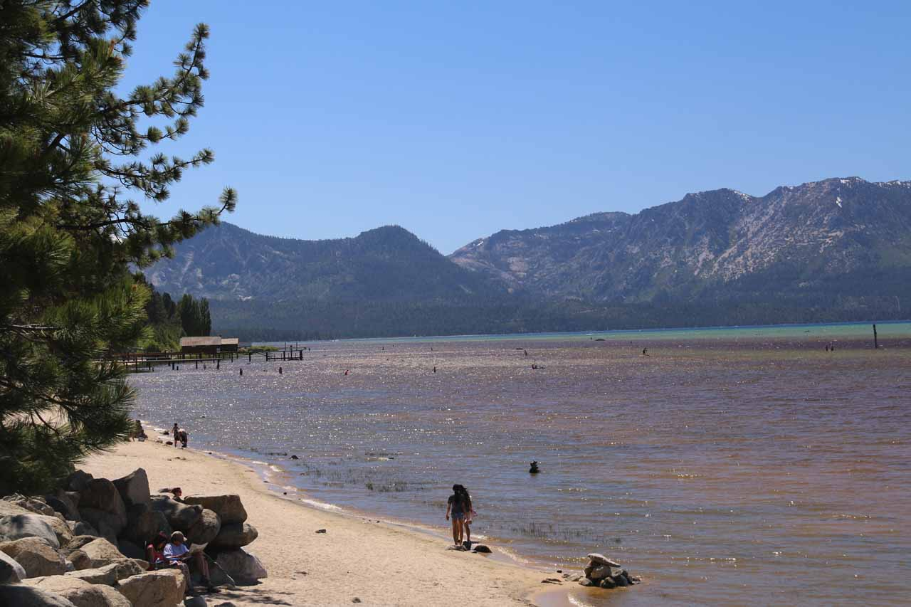 It was about a 90-minute drive from South Lake Tahoe to the Bassi Falls Trailhead at Millionaire Camp. While South Lake Tahoe had the city, gambling, and the lake, Bassi Falls felt more like an escape