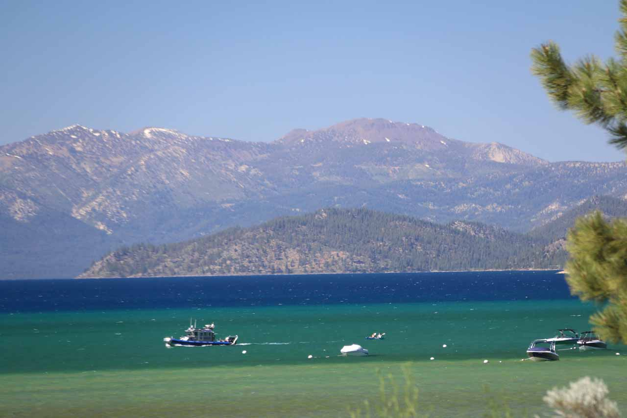 About 2.5 hours drive further to the south was South Lake Tahoe, where a mix of city life, gambling, and Nature all mixed together in this year-round resort town normally known for skiing