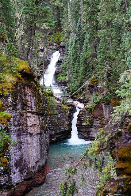 South_Mineral_Creek_Falls_011_07242020 - Both drops of South Fork Mineral Creek Falls