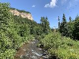 Spearfish_Canyon_034_iPhone_07302020 - Looking downstream from the footbridge over Spearfish Creek