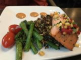 Spokane_008_iPhone_08042017 - The sockeye salmon dish served up at the restaurant in the Riverfront Square Shopping Mall