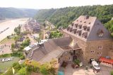 St_Goar_052_06172018 - Another commanding view over the hotel and the rest of Sankt Goar from the top of the Uhrturm in Burg Rheinfels