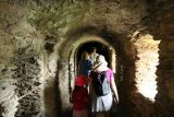 St_Goar_109_06172018 - Passing through some of the interior of the castle walls that were not accessible without a guide at Burg Rheinfels
