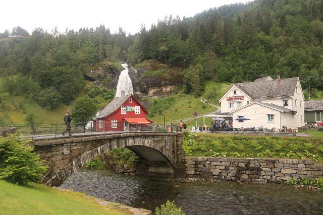 Steindalsfossen_009_06262019 - About to cross the historical stone bridge to get even closer to Steinsdalsfossen