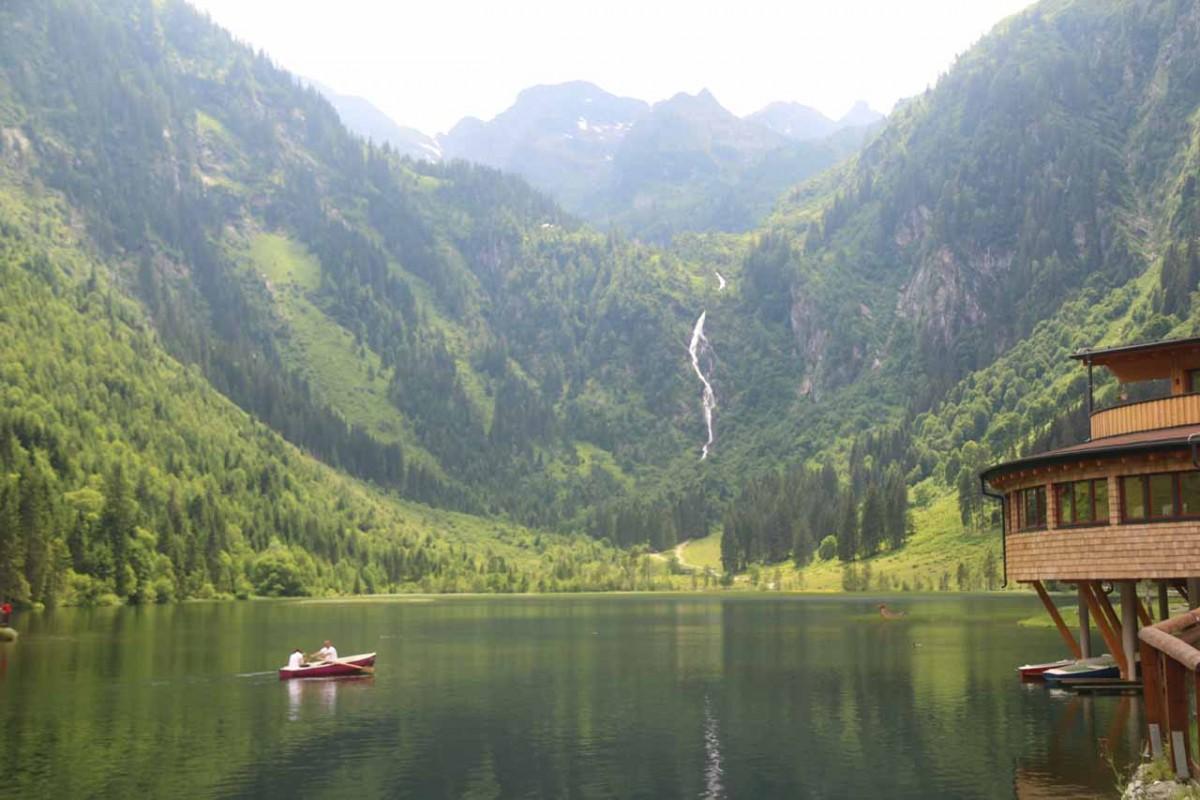 Steirischer Bodensee Waterfall