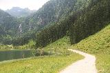 Steirischer_Bodensee_084_07032018 - Context of the trail going around the shore of the Steirischer Bodensee en route to the base of the waterfall