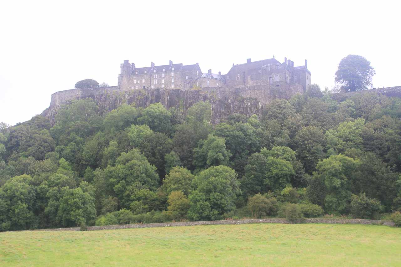 Roughly 45 miles north of New Lanark was Stirling, which was famous for both its old town as well as the Stirling Castle