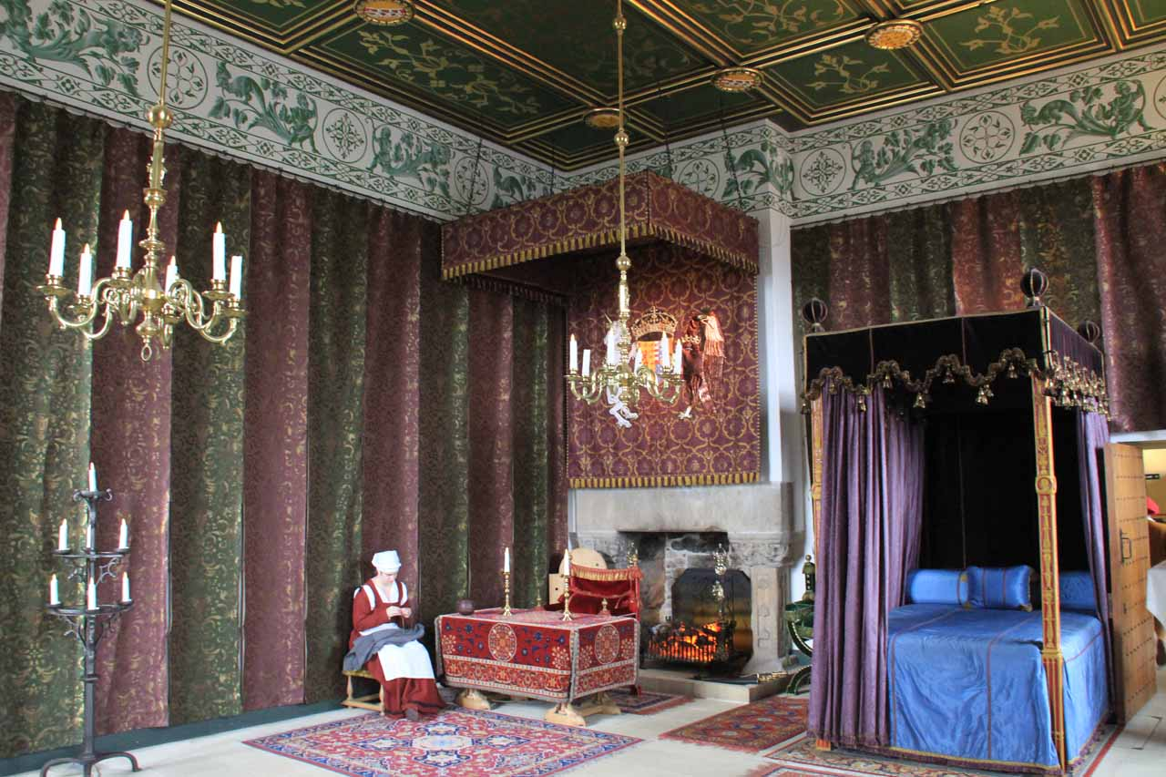 Falls of Falloch was just a stopover on our way to Stirling Castle, which was not only majestic, but also let us experience its interior where employees acted as if they were in the period as well