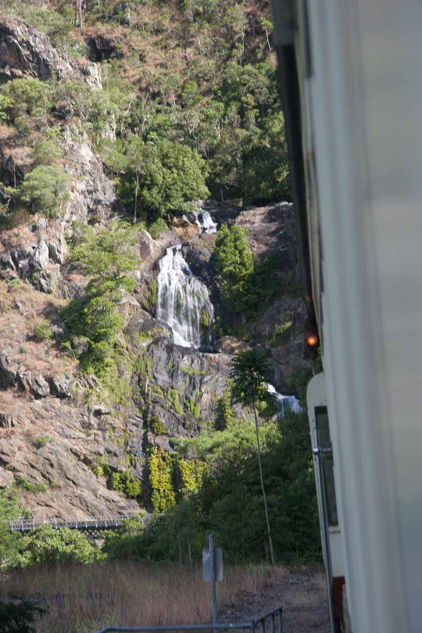 Stoney Creek Falls from the railway
