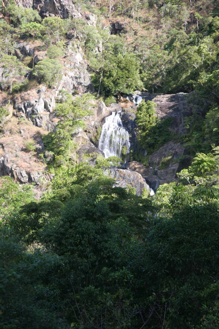 Part of the Stoney Creek Falls from the rail