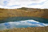 Stora_Viti_002_08132021 - Looking across the crater at Stora Viti from near the car park, but we'd have to hike further up the right side of the rim of the crater for a better look at it