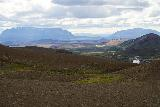 Stora_Viti_007_08132021 - Looking back towards Burfell (the table top mountain) from the rim of Stora Viti