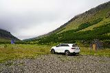 Strutsfoss_004_08112021 - We were the lone car parked at the Strutsfoss Trailhead when we got started