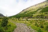 Strutsfoss_012_08112021 - Context of the beginning of the Strútsfoss Trail following the Kelduá in Suðurdalur