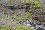 Strutsfoss_075_08112021 - Looking towards one of the side cascades feeding the Fellsá as we continued in Villingadalur towards Strútsfoss