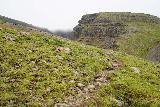 Strutsfoss_090_08112021 - Continuing up the steep somewhat informal path getting us closer to Strutsfoss