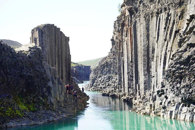 Studlagil_Canyon_185_08102021 - During our August 2021 visit to Iceland, we based ourselves in Seyðisfjörður so we could visit Stuðlagil Canyon