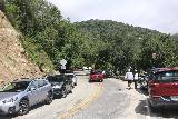 Sturtevant_Falls_019_05272019 - Approaching the Chantry Flat trailhead, but also noticing that many cars appeared to be parked over the traffic lines and would be prone to getting a ticket