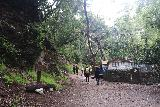 Sturtevant_Falls_044_05272019 - The crew passing by more cabins alongside the Sturtevant Falls Trail during our Memorial Day 2019 visit