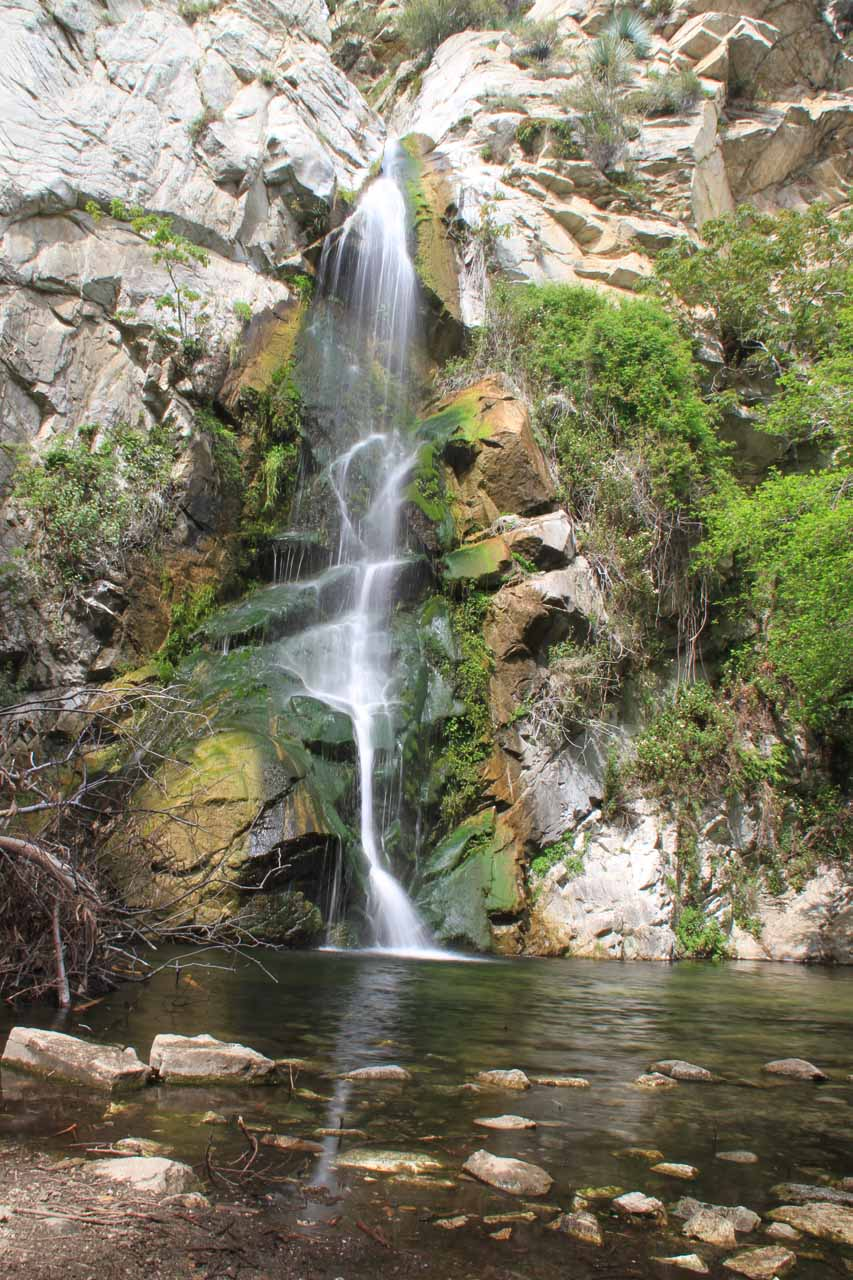 Direct view of the attractive Sturtevant Falls in 2013