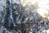 Sturtevant_Falls_15_053_01182015 - The busy weekend scene at the Sturtevant Falls during our January 2015 visit despite the waterfall's low flow on this day