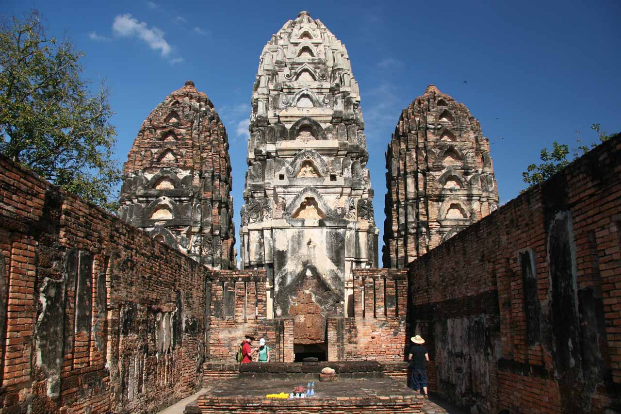 But for impressive sights like this, riding a bike to take in Sukhothai Historical Park was worth the time and exertion